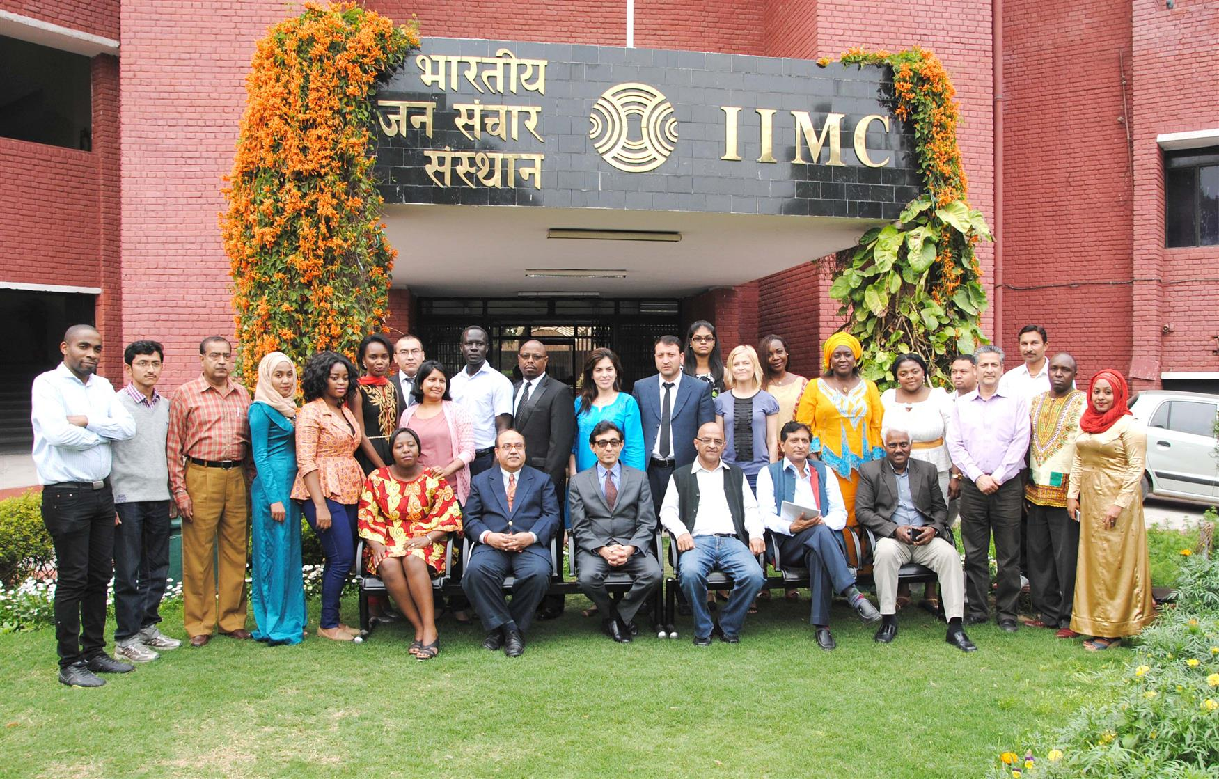 The sixty fourth batch of Diploma Course in Development Journalism