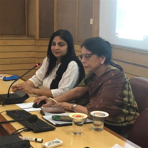 Ms Mamta Verma ADG and Director Short courses inaugurated a short course today on Media Management for PROs of Ministry of Defence