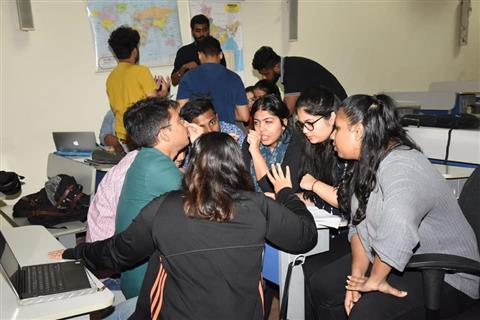 Students of Advertising and Public Relations attended workshop on Grassroot Communication