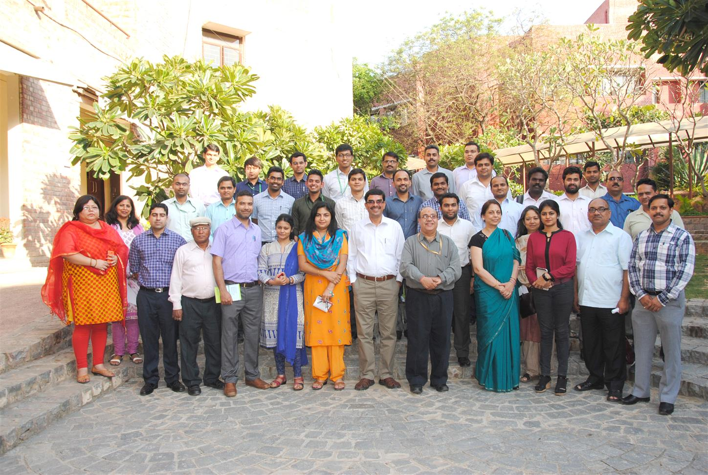 IIMC Faculty and IIS Officer Group A