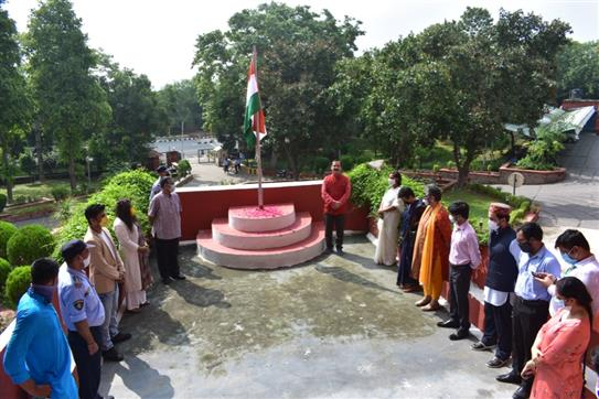 IIMC Celebrated the Independence day